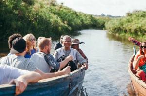 Prof Yunus in Uganda -Tom Woollard
