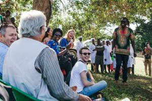 Prof Yunus visiting Jali Organic - Uganda -Tom Woollard